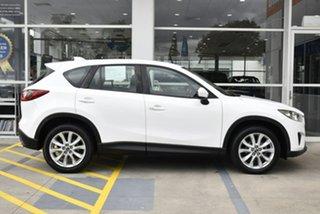 2014 Mazda CX-5 KE1021 MY14 Grand Touring SKYACTIV-Drive AWD White 6 Speed Sports Automatic Wagon
