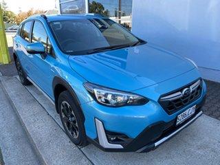 2021 Subaru XV G5X MY21 Hybrid L Lineartronic AWD Lagoon Blue 7 Speed Constant Variable Wagon Hybrid.
