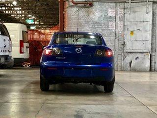 2009 Mazda 3 BK10F2 MY08 Neo Sport Blue 5 Speed Manual Sedan
