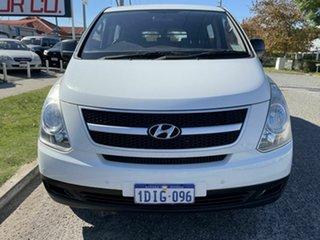 2010 Hyundai iLOAD TQ Crew White 5 Speed Automatic Van.