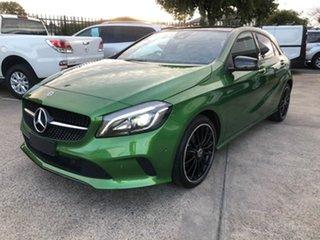 2018 Mercedes-Benz A-Class W176 808+058MY A180 D-CT Green 7 Speed Sports Automatic Dual Clutch