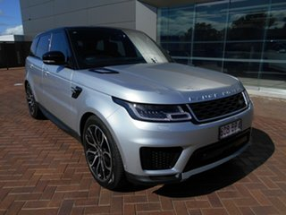 2017 Land Rover Range Rover Sport L494 18MY TDV6 SE Silver 8 Speed Sports Automatic Wagon.