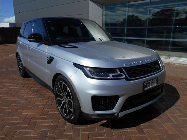 Used Land Rover Range Rover Sport L494 18MY TDV6 SE Toowoomba, 2017 Land Rover Range Rover Sport L494 18MY TDV6 SE Silver 8 Speed Sports Automatic Wagon