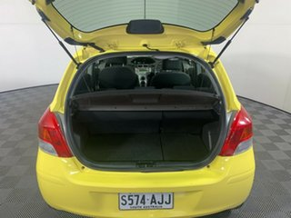 2008 Toyota Yaris NCP90R YR Yellow 4 Speed Automatic Hatchback