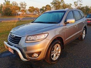 2011 Hyundai Santa Fe CM MY11 Highlander Silver 6 Speed Sports Automatic Wagon.