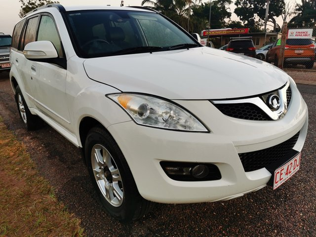 Used Great Wall X200 K2 MY12 Pinelands, 2012 Great Wall X200 K2 MY12 White 6 Speed Manual Wagon