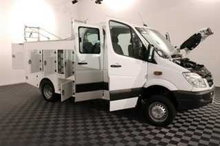 2012 Mercedes-Benz Sprinter NCV3 MY12 516CDI LWB White 5 speed Automatic Cab Chassis