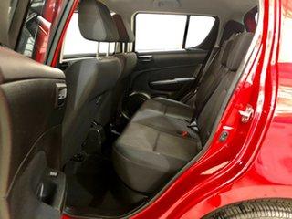 2012 Suzuki Swift FZ GA Red 4 Speed Automatic Hatchback