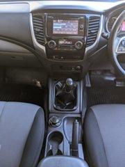 2016 Mitsubishi Triton MQ MY17 GLX+ Double Cab White 6 Speed Manual Utility