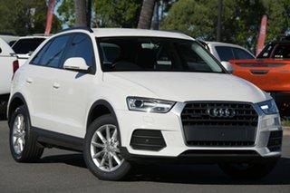 2015 Audi Q3 8U MY16 TDI S Tronic Quattro White 7 Speed Sports Automatic Dual Clutch Wagon.