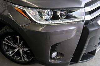 2017 Toyota Kluger GSU55R GX AWD Grey 8 Speed Sports Automatic Wagon.