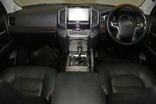 2019 Toyota Landcruiser VDJ200R Sahara Black 6 Speed Sports Automatic Wagon