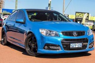 2014 Holden Commodore VF MY14 SS Storm Blue 6 Speed Manual Sedan.