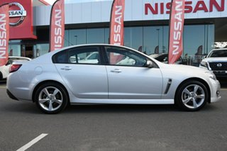 2016 Holden Commodore VF II MY16 SV6 Silver 6 Speed Sports Automatic Sedan.