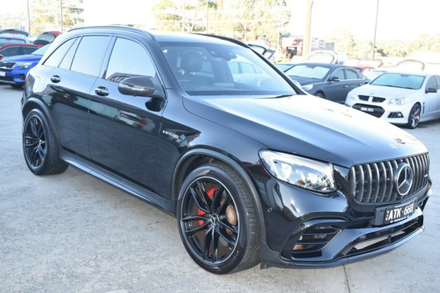 Used Mercedes-Benz GLC-Class C253 809MY GLC63 AMG Coupe SPEEDSHIFT MCT 4MATIC+ S Ferntree Gully, 2018 Mercedes-Benz GLC-Class C253 809MY GLC63 AMG Coupe SPEEDSHIFT MCT 4MATIC+ S Black 9 Speed