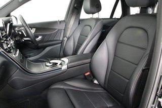 2017 Mercedes-Benz GLC220D 253 MY18 Black 9 Speed Automatic Wagon