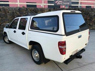 2008 Holden Colorado RC LX Crew Cab 4x2 White 5 Speed Manual Utility.