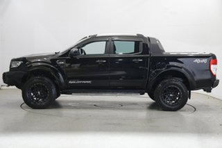 2017 Ford Ranger PX MkII 2018.00MY Wildtrak Double Cab Black 6 Speed Sports Automatic Utility.