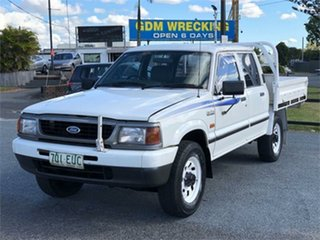 1998 Ford Courier PD XL White 5 Speed Manual Utility.