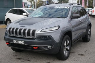 2014 Jeep Cherokee KL MY15 Trailhawk Silver 9 Speed Sports Automatic Wagon