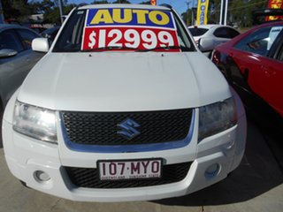 2010 Suzuki Grand Vitara JB MY09 White 4 Speed Automatic Wagon.