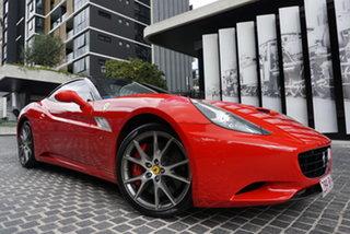 2012 Ferrari California F149 30 Rosso Corsa 7 Speed Sports Automatic Dual Clutch Convertible.