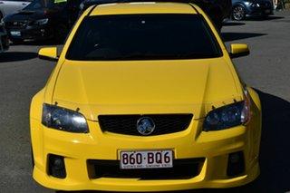 2010 Holden Commodore VE II SS Yellow 6 Speed Manual Sedan.