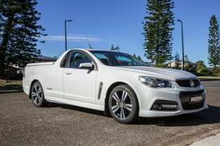 2015 Holden Ute VF MY15 SV6 Ute Storm White 6 Speed Sports Automatic Utility.