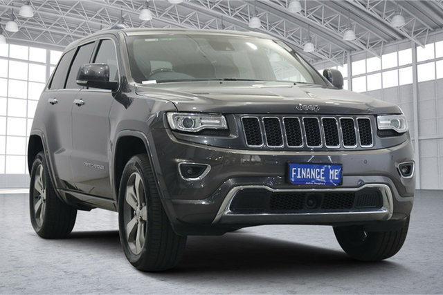 Used Jeep Grand Cherokee WK MY2014 Overland Victoria Park, 2014 Jeep Grand Cherokee WK MY2014 Overland Granite Crystal 8 Speed Sports Automatic Wagon