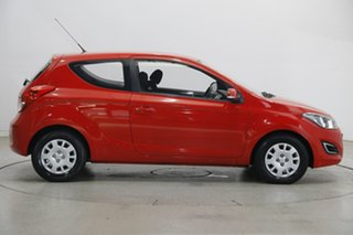 2013 Hyundai i20 PB MY13 Active Electric Red 6 Speed Manual Hatchback