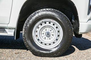 2019 Mitsubishi Triton MR MY20 GLX Double Cab White 6 Speed Manual Utility