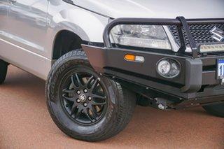 2010 Suzuki Grand Vitara JB MY09 Prestige Silver 4 Speed Automatic Wagon.