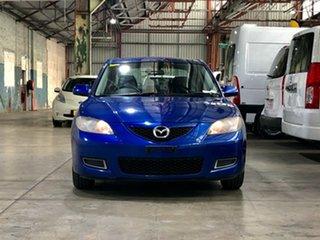 2009 Mazda 3 BK10F2 MY08 Neo Sport Blue 5 Speed Manual Sedan.