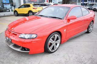 2003 Holden Special Vehicles Coupe V2 Series 2 GTS Red 4 Speed Automatic Coupe.