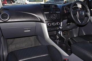 2012 Mazda BT-50 UP0YF1 GT Aurora Blue 6 Speed Manual Utility