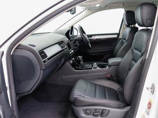 2015 Volkswagen Touareg 7P MY15 150 TDI White 8 Speed Automatic Wagon