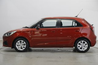 2020 MG MG3 SZP1 MY20 Core Tartan Red Metallic 4 Speed Automatic Hatchback.