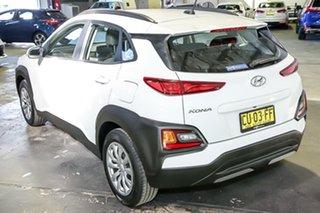 2018 Hyundai Kona OS.2 MY19 Go 2WD White 6 Speed Sports Automatic Wagon