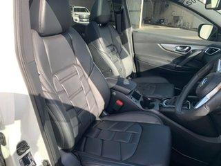 2020 Nissan Qashqai J11 Series 3 MY20 Ti X-tronic White 1 Speed Constant Variable Wagon.