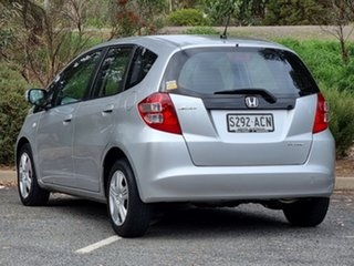 2009 Honda Jazz GE MY09 GLi Silver 5 Speed Automatic Hatchback