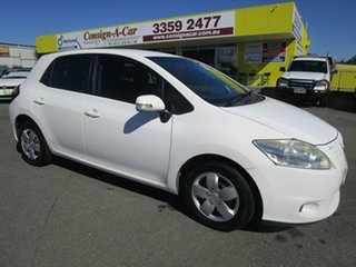 2012 Toyota Corolla ZRE152R MY11 Ascent White 4 Speed Automatic Hatchback.