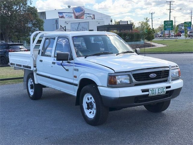 Used Ford Courier PD XL Archerfield, 1998 Ford Courier PD XL White 5 Speed Manual Utility