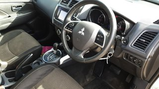 2013 Mitsubishi ASX XB MY13 (2WD) White Continuous Variable Wagon