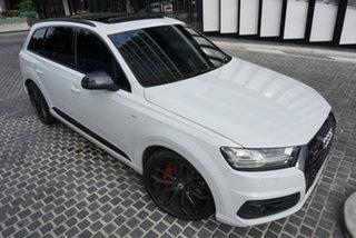 2018 Audi SQ7 4M TDI Glacier White 8 Speed Sports Automatic Wagon.