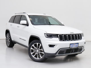 2017 Jeep Grand Cherokee WK MY18 Limited (4x4) White 8 Speed Automatic Wagon.