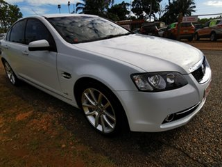 2012 Holden Calais VE II MY12 V White 6 Speed Sports Automatic Sedan.