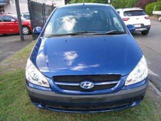 2008 Hyundai Getz TB Upgrade SX Blue 5 Speed Manual Hatchback.