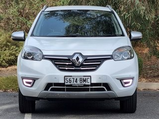 2015 Renault Koleos H45 PHASE III MY15 Bose White 1 Speed Constant Variable Wagon.