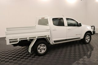 2016 Holden Colorado RG MY17 LS Crew Cab Summit White 6 speed Manual Cab Chassis