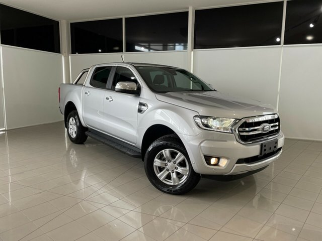 Used Ford Ranger PX MkIII 2019.00MY XLT Hi-Rider Deer Park, 2018 Ford Ranger PX MkIII 2019.00MY XLT Hi-Rider Silver, Chrome 6 Speed Sports Automatic Utility